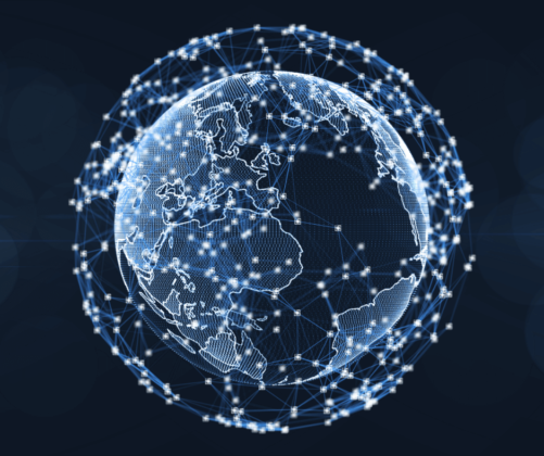 How blockchain will connect everyone in the world is illustrated