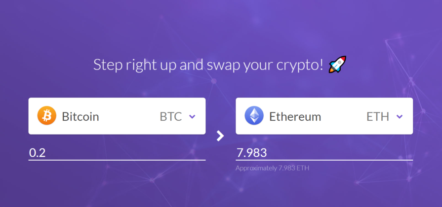 Crypto swapper featured image
