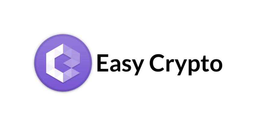 Easy Crypto South Africa logo on white background